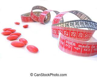 body care - vitamins for slim body