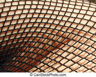 body in net