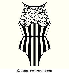 Body. Lingerie. Lacy lingerie