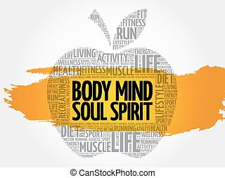 Body Mind Soul Spirit apple