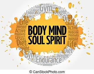 Body Mind Soul Spirit circle