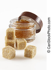 Body Scrub - Body scrub with brown sugar crystals...
