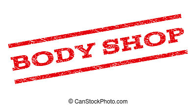 Body Shop Watermark Stamp - Body Shop watermark stamp. Text...