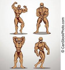 Bodybuilder Set 1