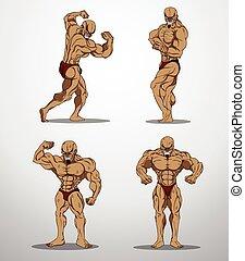 Bodybuilder Set 2