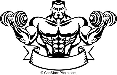 bodybuilder t-shirt design,