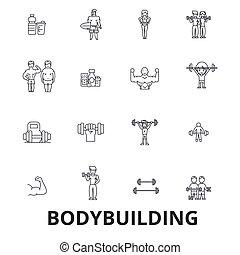 Bodybuilding, body, muscle, gym, muscleman, bodybuilder,...