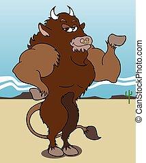 bodybuilding, buffel