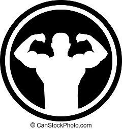 bodybuilding, cirkel