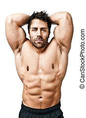bodybuilding, człowiek