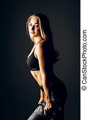 bodybuilding, femininas, esportes