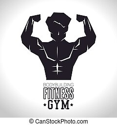 bodybuilding fitness gym concept