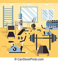 Bodybuilding Gym Poster
