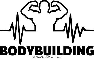 Bodybuilding heartbeat pulse