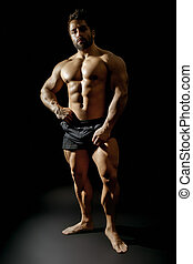 bodybuilding man