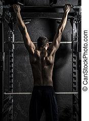 Bodybuilding Pull-ups  Fitness Bar