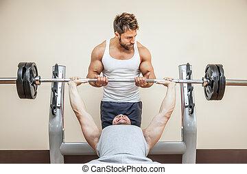 bodybuilding, uomo