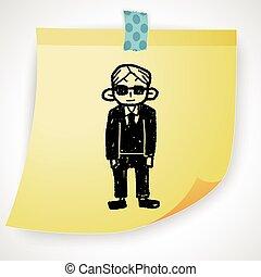 bodyguard doodle