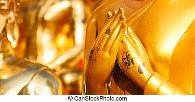 boeddha, hand