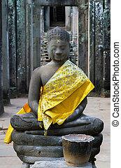 boeddha, oud, tempel