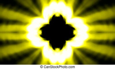 boeddhisme, lotus bloem, lancering, stralen