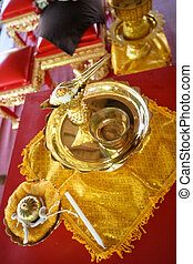 boeddhist, ceremony.