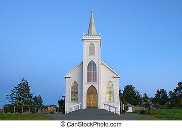 boedga, distancia, iglesia