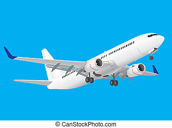 Boeing 737 - boeing, 737, ng, plane, airplane, aircraft,...