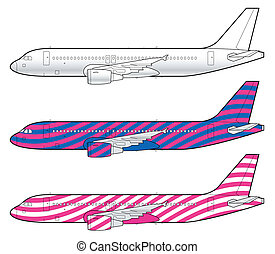 boeing aircraft template