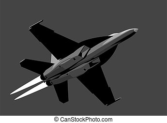 Boeing F/A-18E/F Super Hornet.