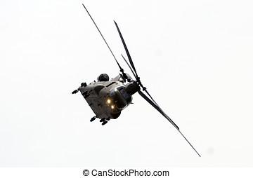 Boeing Vertol Chinook - Airborne Boeing Vertol Chinook...