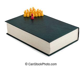 boek, bewindvoering