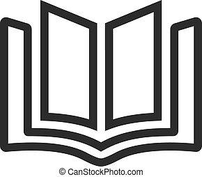 boek, bibliotheek