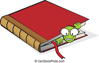 boek, boekenworm