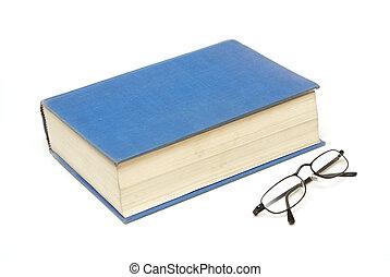 boek, bril