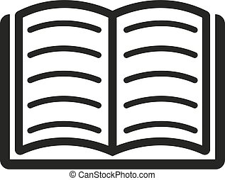 boek, icon., vector, design., bibliotheek, symbool., web., graphic., jpg., ai., app., logo., object., flat., image., teken., eps., art., afbeelding