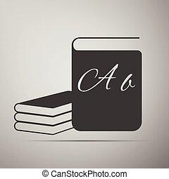 boek, icons.