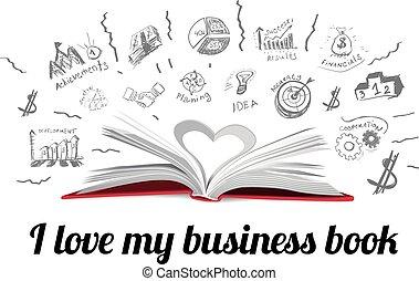 boek, idee, creatief