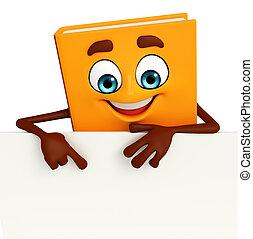 boek, karakter, meldingsbord