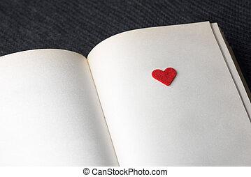 boek, liefde
