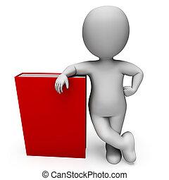 boek, optredens, student, onderzoek