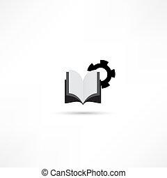 boek, pictogram