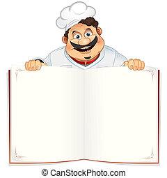 boek, recept