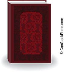 boek, rood