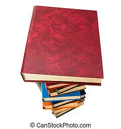boek, stapel
