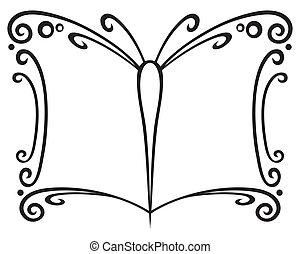 boek, symbool