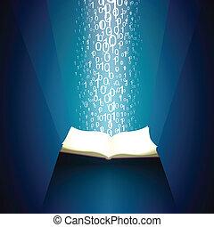 boek, van, informatie