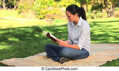 boek, vrouwenlezing