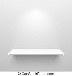 boekenplank, witte