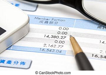 boekhouding, financieel